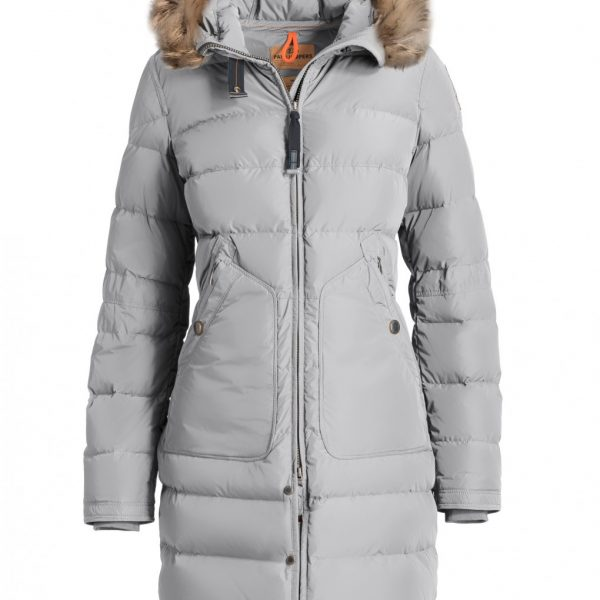 Parajumpers HIGH FILL POWER LIGHT LONG BEAR SILVER för Dam